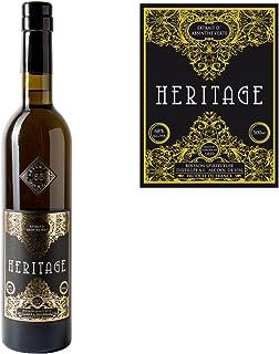 Absinth Heritage Verte aus Frankreich | Original Rezeptur | 68% Vol. | Premium Qualität mit Weinalkohol destilliert | 1x 0.5 l