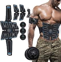 BELLY MUSCLE TRAINER ELECTRICAL - EMS-spierstimulator met 15 krachtniveaus, EMS-trainingsapparaat voor mannen, buikspiertr...