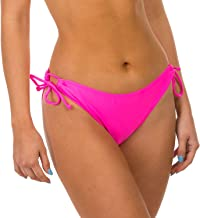 H2OH Colours Swimwear The Easy to Please Adjustable Tie Neon Pink