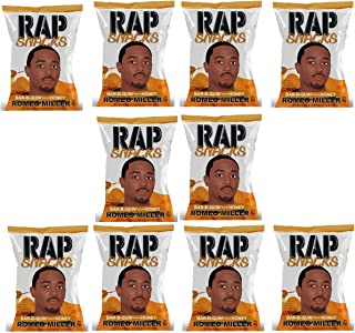 Rap Snacks 1 oz Potato Chip Bags (Romeo Miller Bar-B-Quin' with my Honey, 10 Pack)