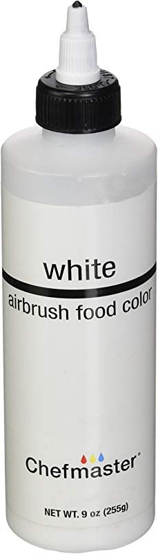 Chefmaster Airbrush Spray Food Color 9 Ounce White
