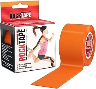 Rocktape Kinesiology Tape for Athletes (Orange, 2-Inch x 16.4-Feet)