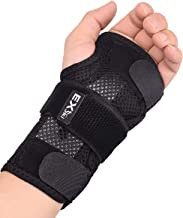 EXski Double Cock Up Wrist Splints - Wrist Hand Support Brace for Carpal Tunnel Tendinitis Sprains Sleeping Right Left Hand 1 Piece