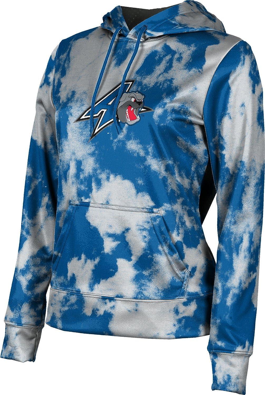 University of North Carolina Asheville Girls' Pullover Hoodie, School Spirit Sweatshirt (Grunge)