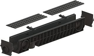Standartpark - 4 inch trench drain plastic grate package - 6.2