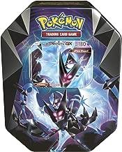 Pokemon TCG: 2018 Spring Dawn Wings NECROZMA Purple TIN- Dawn Wings - 4 Booster Packs with 1 GX Card of Dawn Wings Necrozma-GX