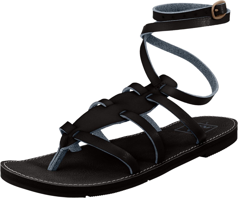 Reef Womens Naomi 4 Black Strappy Gladiator Sandals Size