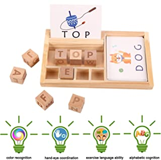 Best wooden spelling puzzles Reviews