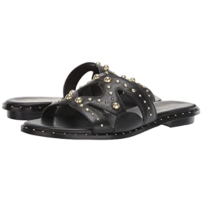 MICHAEL Michael Kors Annalee Slide (Black) Women