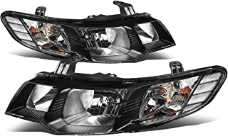For 10-13 Forte TD Chrome Housing Clear Corner Headlights/Lamps - Pair