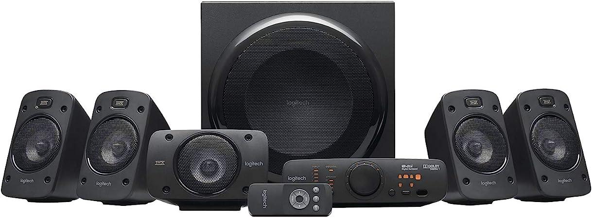 -Logitech Surround Sound Speaker System Z906 - Zwart-aanbieding