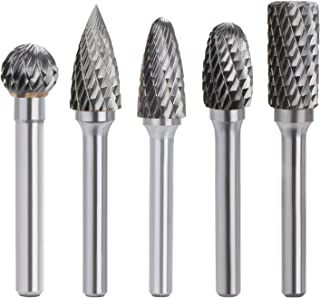 Sponsored Ad – OCGIG 5 Pcs 12mm Head Tungsten Carbide Rotary Point Burr Die Grinder Bit 6mm Shank Kit for Woodworking Dril...