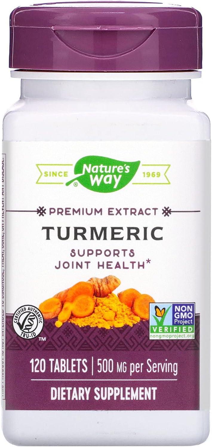 Popular popular Nature's Way Turmeric 120 Ranking TOP1 tabs