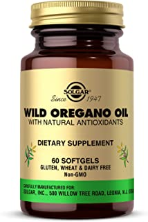 Best Solgar Wild Oregano Oil, 60 Softgels - High Quality Oregano Oil Concentrate - Immune Support - Includes Natural Antioxidant Phytochemicals - Non GMO, Gluten Free, Dairy Free - 60 Servings Review