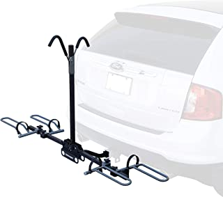 Retrospec Lenox Car Hitch Mount Tray Bike Rack with 2-inch Receiver