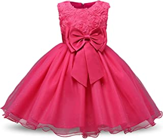 Balalei Girl Floral Princess Party Girls Dress Summer Children Clothing Wedding Birthday Baby Dress Tutu 3-12 Y