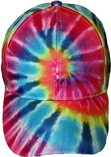 Pastel Spiral Baseball Tie Dye Cap Hat Men Women Kids
