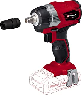 Einhell 4510040 TE-CW 18 Li BL-Solo Power X-Change Cordless Impact Wrench - Supplied without Battery and Charger, 20.0 cm*...