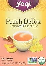 Yogi Tea, Peach Detox, 16 Count, Packaging May Vary