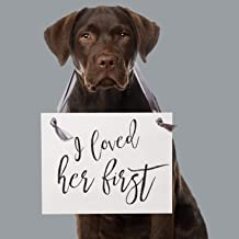 Best i loved her first dog sign Reviews