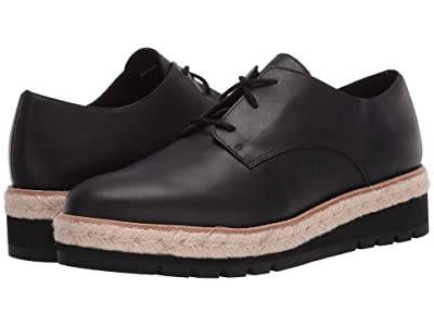 Eileen Fisher Everly (Black Leather) Women