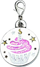 product image for Rockin' Doggie Pewter Collar Charms - Cupcake