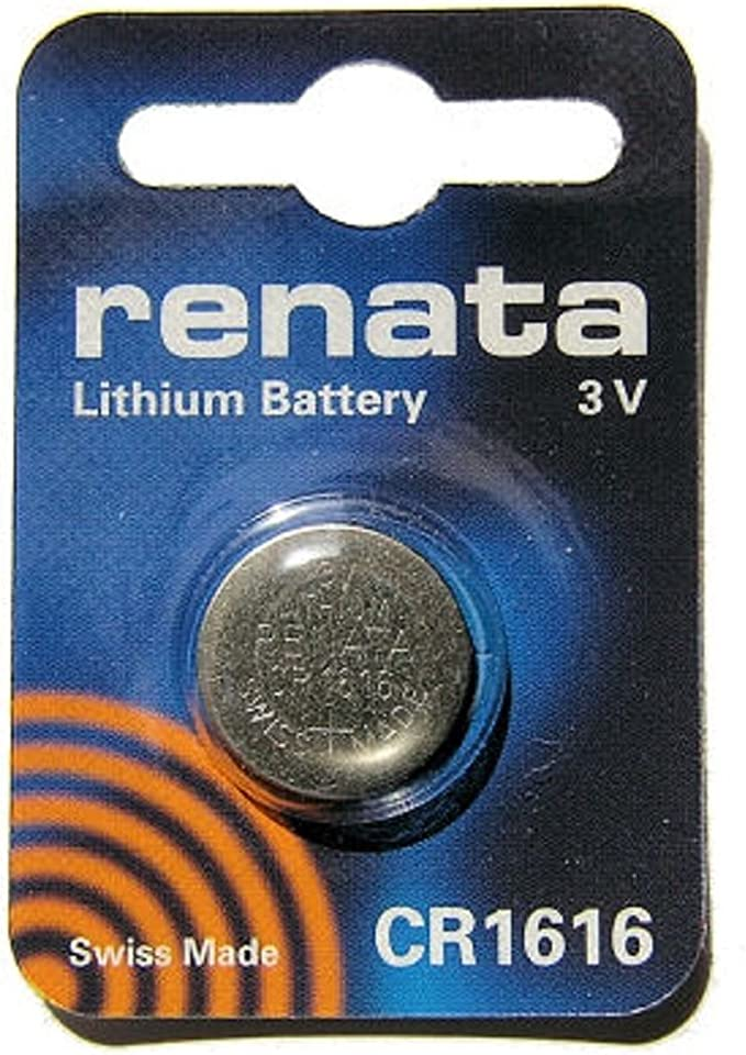 Renata Cr1616 3 V Lithium Knopfzelle Uhrenbatterie Elektronik