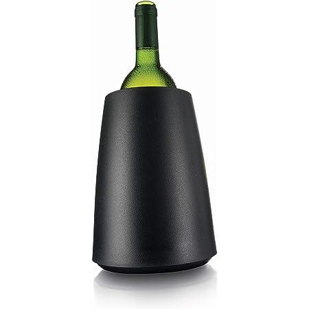 Vacu Vin Rapid Ice Glacièreà vin Noir