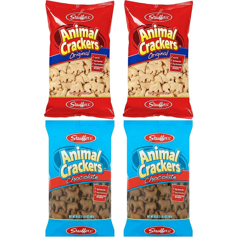 Stauffers Animal Crackers Ranking TOP11 VALUE Chocolate Original 2 Minneapolis Mall Bundle: