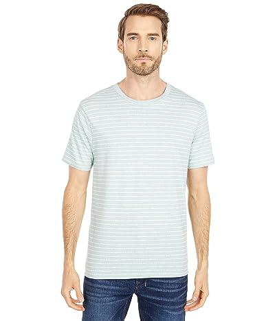 Alternative The Outsider Tee (Capri Blue Drip Stripe) Clothing
