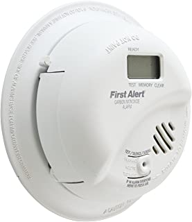 First Alert BRK CO5120PDBN Hardwire Carbon Monoxide Alarm with Battery Backup and Digital Display