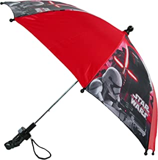 Kids' Star Wars Stick Umbrella with Character Handle, Red