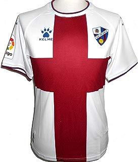 KELME S.D Huesca Mens Away La Liga Soccer Jersey 2018-2019