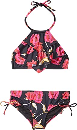 Floral Dawn High Neck Set (Little Kids/Big Kids)