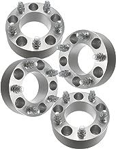 Set of 4 50mm Wheel Spacers | 5x114.3 | Fits Scion Toyota Lexus 5 Lug 12x1.5 Studs