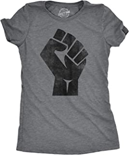Womens Revolution Fist Funny Pride Resist Cool United Stand Together T Shirt
