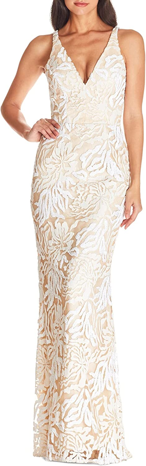 Dress the Population Women's Mermaid New color Off White M All stores are sold