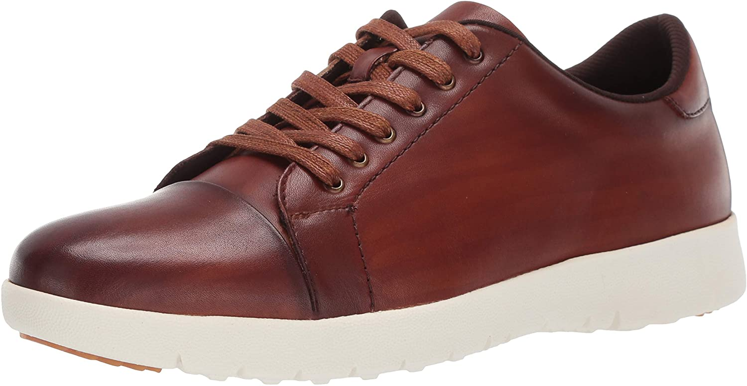 STACY ADAMS Men's Baltimore Mall Hawkins Sneaker Lace-up quality assurance Cap-Toe