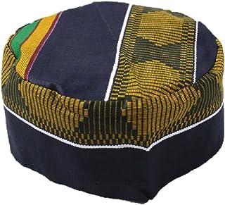 African Inspired Fashions Kente Kufi Kofi Hat Cap Style #4