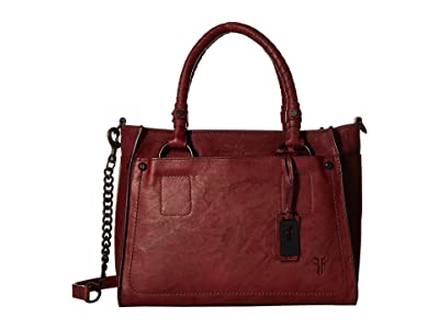 Frye Demi Satchel (Burnt Apple Antique Soft Vintage) Satchel Handbags
