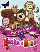Masha e Orso - Libro da Colorare Bambini 3 - 7 Anni: Tutti felici con questo libro da colorare di Masha e Orso, i personag...