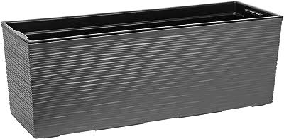 vidaXL Pflanzkasten WPC 100x50x54cm Grau Pflanzkübel
