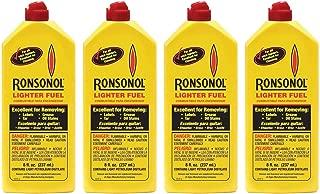 Ronson 8 oz Ronsonol Lighter Fuel (4 Pack)