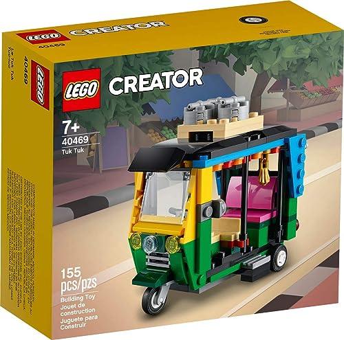 new arrival Lego Creator lowest Tuk Tuk outlet sale 40469 Exclusive Building Set online sale