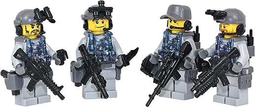 Modern Brick Warfare Navy Seal Team 6 Squad Custom Minifigure