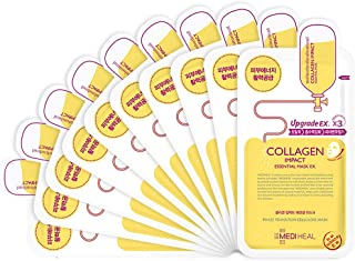 MEDIHEAL Collagen Impact Essential Mask EX. 25ml Pack of 10
