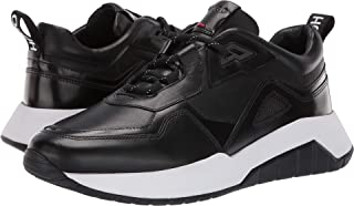 Hugo Boss BOSS Mens Atom Run Leather Sneaker by Hugo