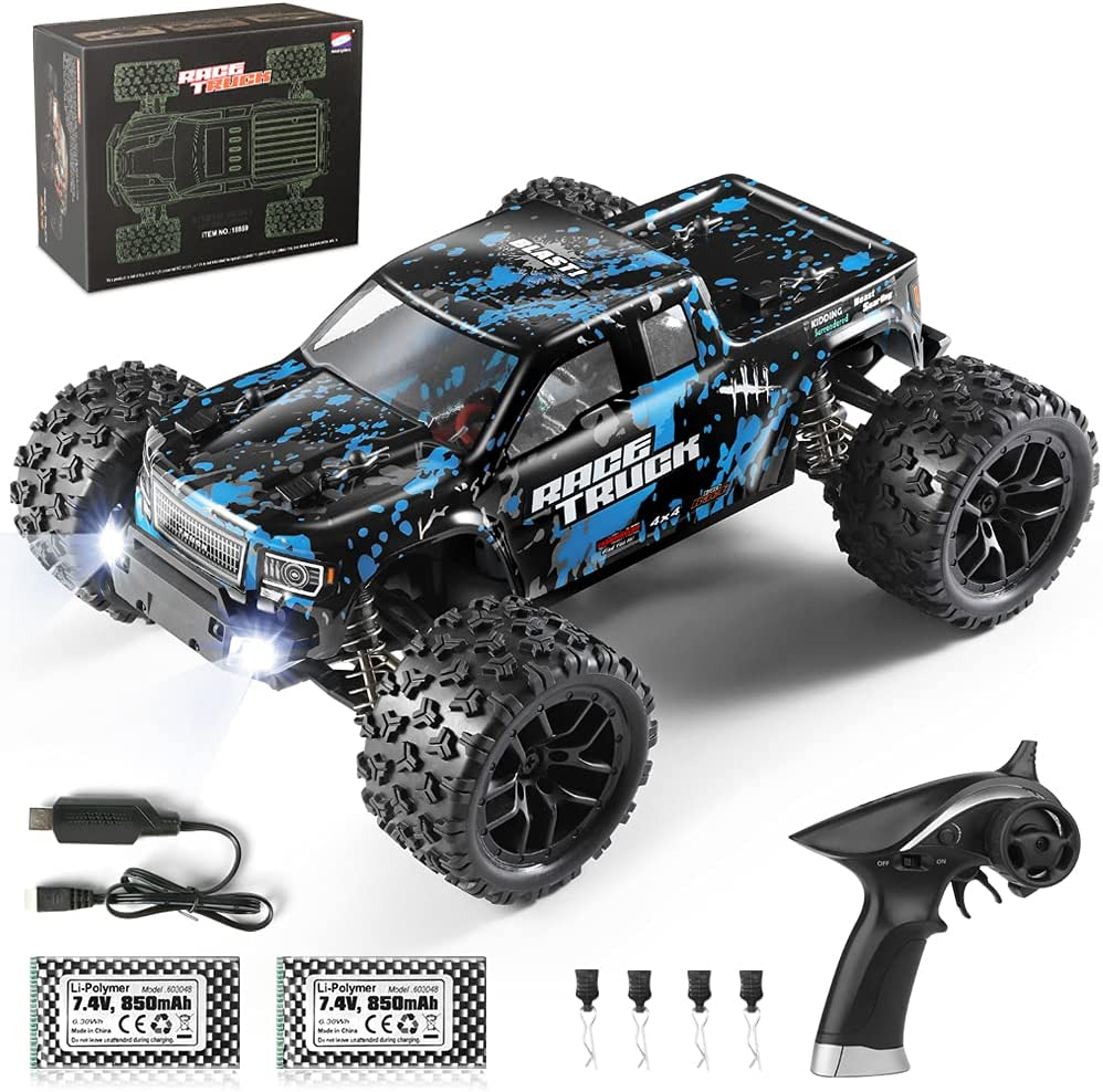HAIBOXING depot Free shipping RC Cars 1 18 Scale Off-Road Trucks 36 Monster with 4WD