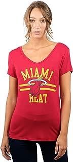 NBA Women's Relaxed Short Sleeve Tee Shirt
