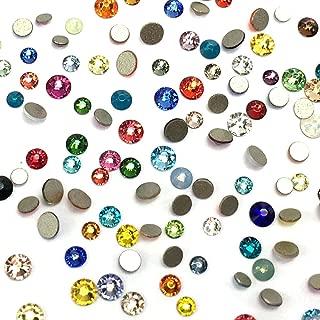 swarovski nail crystals mixed
